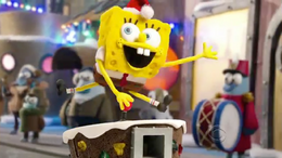 Christmas Spongebob