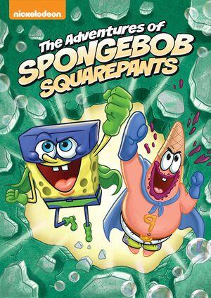 The Adventures of SpongeBob SquarePants DVD