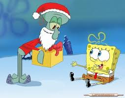 File:Santa, spongebob, squidward.jpg
