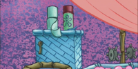 Squidward's toilet/gallery