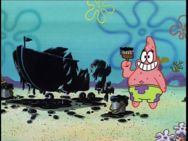 File:Patrick & The Invisible Boatmobile Almost Fully Painted.jpg