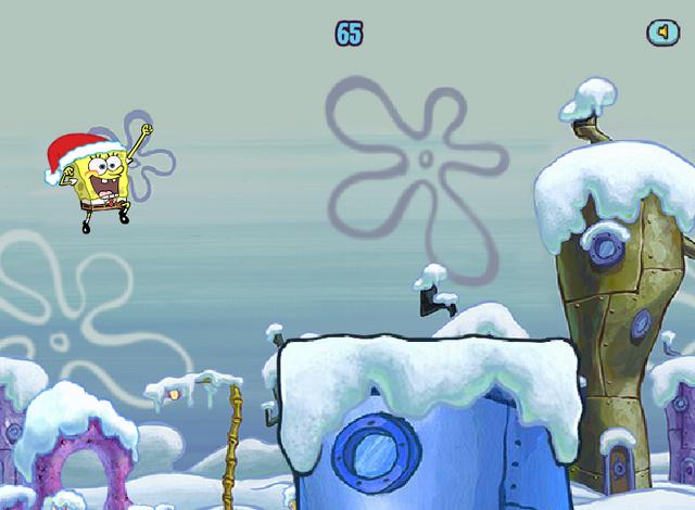 File:Spongebob Winter RUNerland Spongebob jumping.png