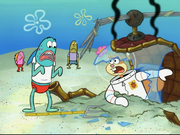 Sandy in SpongeBob SquarePants vs. The Big One-48