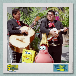 SpongeBob & Patrick Travel the World - Mexico 2