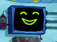SpongeBob SquarePants Karen the Computer Face-4
