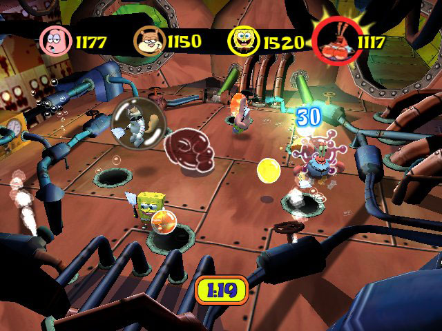File:3d Patrick, 3d Mr. Krabs, 3d Spongebob, & 3d Sandy.jpg