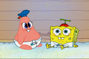Baby Patrick and SpongeBob