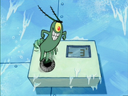 Plankton Turns Down Thermostat