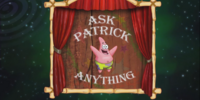 Patrick Star/gallery/Ask Patrick Anything