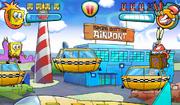 Bikini Bottom Airport in Bikini Bottom Brawlers
