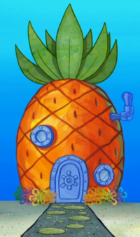 SpongeBob's pineapple house in Season 8-4