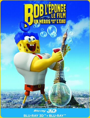 File:Bob L'éponge Le Film - Un Héroes Sort de L'eau Blu-ray 3D.jpg
