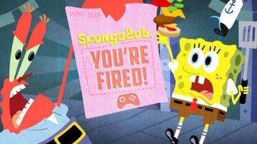 SpongeBob, You're Fired! Game