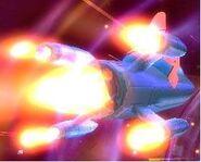 3D Starfish Man On 1 Rocket2