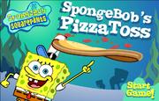 Spongebob Squarepants Spongebob's Pizza Toss Title Screen