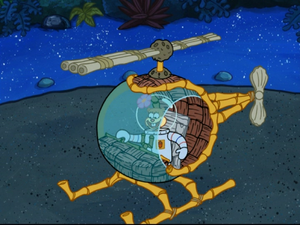 Sandy in SpongeBob SquarePants vs. The Big One-34