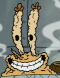 Fried Mr. Krabs