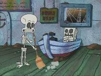 SpongebobandSquidward'sSkeletons