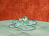 Squidward in Liquid Form