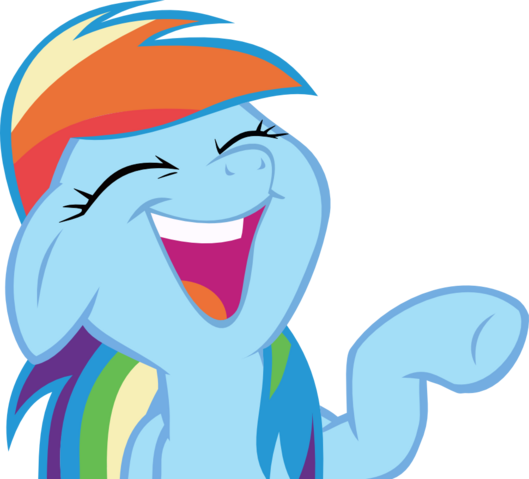 File:Rainbow dash laughs.png