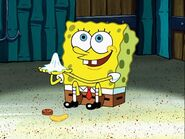 Spongebob, Penny, Chip, & Used Napkin