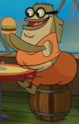 Bubble Bass in The SpongeBob Movie - Sponge Out of Water