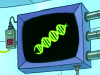 SpongeBob SquarePants Karen the Computer DNA