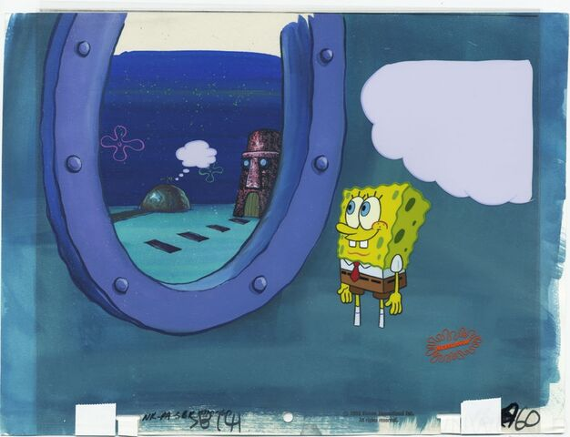 File:SpongeBob Sleepy Time Original production animation cel.jpg