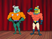 Mermaid Man & Barnacle Boy VI The Motion Picture 027