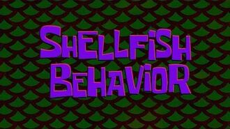 SpongeBob Music Shellfish Behavior