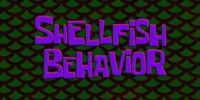 Shellfish Behavior