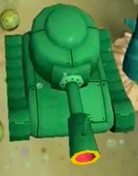 Plankton's Tank in SpongeBob HeroPants