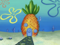 SpongeBob's pineapple house in Season 6-7