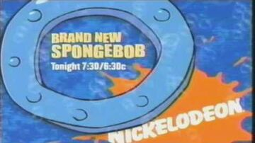 "SpongeBob SquarePants - ""I Had an Accident"" Premiere Promo (October 4, 2003)"