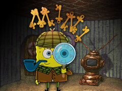 SpongeLock Holmes and Dr. Patson Title Card