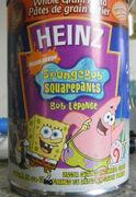 Heinz SpongeBob pasta