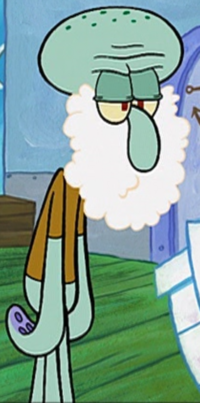 Squidward with a Beard