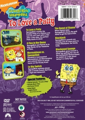 To Love a Patty DVD Back Cover