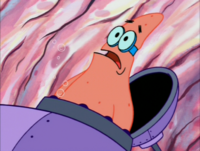 Patrick Wearing Goggles