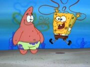 SpongebobandPatrickinHelpWanted