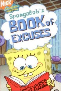 SpongeBob's Book of Excuses Cover