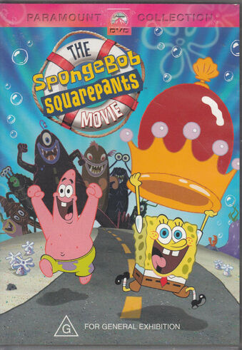 File:The SpongeBob SquarePants Movie Australian DVD.jpg