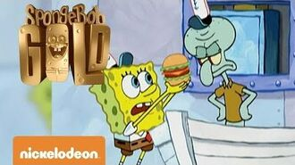 Spongebob Gold Squiddy vs Krabby Patty Nickelodeon