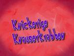 132b. Knickerige Knauserkrabben