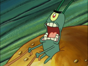 Plankton in Krusty Krab Training Video-6