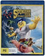 The SpongeBob Movie - Sponge Out of Water Australian Blu-ray