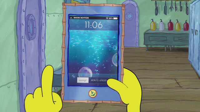 File:SpongeBob Checks His Snapper Chat 03.png