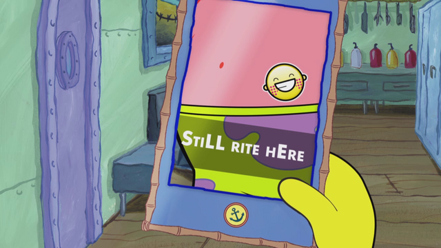 File:SpongeBob Checks His Snapper Chat 49.png