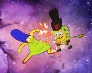 Marge vs. SpongeBob