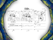 Chum Caverns storyboard panels-4